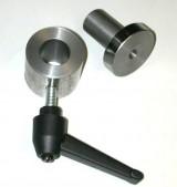 bevestiginggasveer +plastic handle m8 draaiend